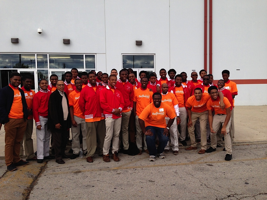 "Kappa Leaguers Volunteer At ""Be Covered Illinois"" Care Fair"